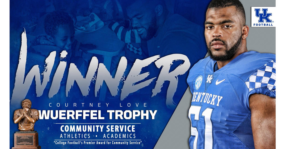 Kentucky's Courtney Love Wins 2017 Wuerffel Trophy   UKNow