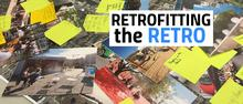 "photo of images from ""Retrofitting the RETRO"" project"
