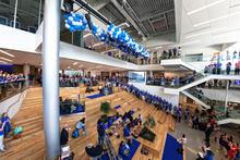 photo of student center atrium