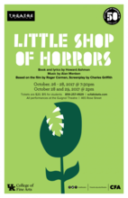 """""""Little Shop of Horrors"""" poster"""