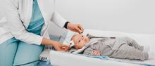 Diagnostic hearing testing for infants