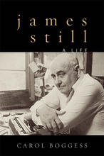 """photo of cover of """"James Still: A Life"""" by Carol Boggess"""