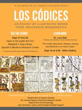 "photo of ""Los Codices"" poster"
