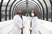 Megan Craft, PA-C, PA Academic Resident, and Amy Stuffelbeam, PA-C, UK HealthCare provider