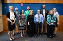 photo of Outstanding Teaching Award winners