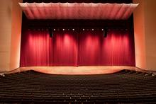 photo of Singletary Center Concert Hall empty stage and seats