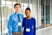 photo of Joseph Walden and Kenyatta Mitchell