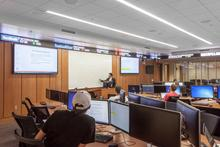photo of Seale Financial Learning Center in Gatton College.