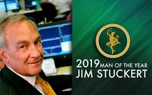 image of James Stuckert and graphic that says 2029 Man of the Year Jim Stuckert
