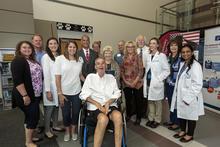 Photo of Talbott Todd and his multidisciplinary team at UK HealthCare's ALS Clinic