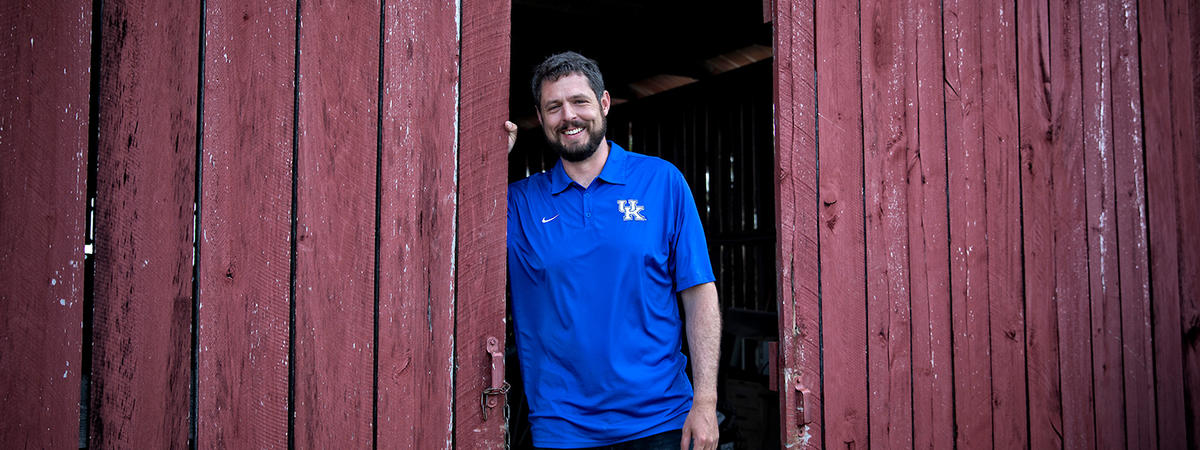 This is a photo of Jacob Tamme, former NFL and UK Football Player.