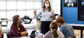Teaching Innovation Institute led by Jill Abney.
