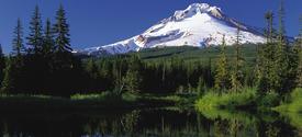 photo of mountain landscape