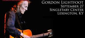 photo of Gordon Lightfoot SCFA web ad