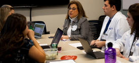 TEAM Clinic participants use collaborative care to improve patient experience