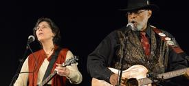 photo of Rhonda and Sparky Rucker performing