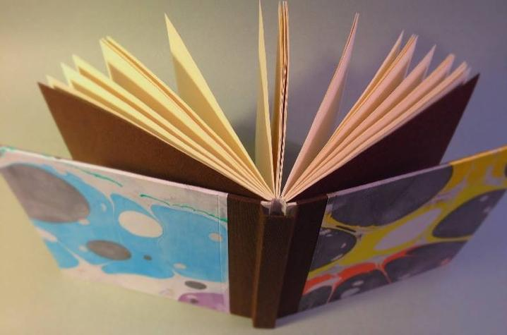 photo of book created at UK Fine Arts Institute