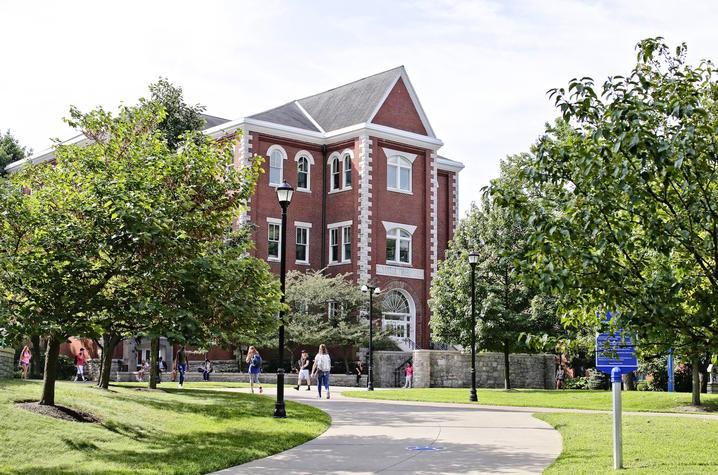 Photo of UK campus