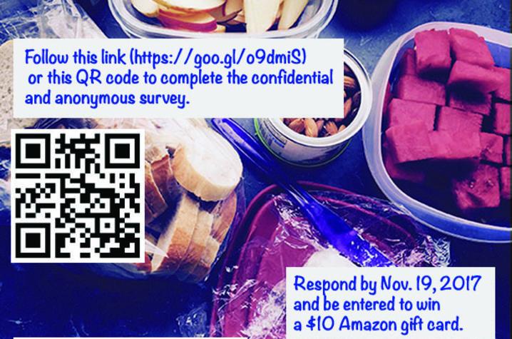 UK Food Access Survey flyer