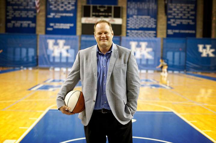 This is a photo of Cameron Mills, a UK alumnus.