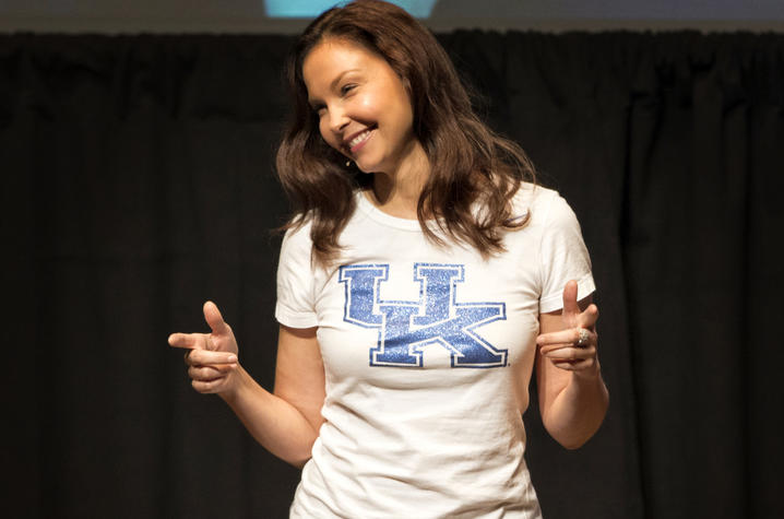 photo of Ashley Judd - Rosenstein lecture