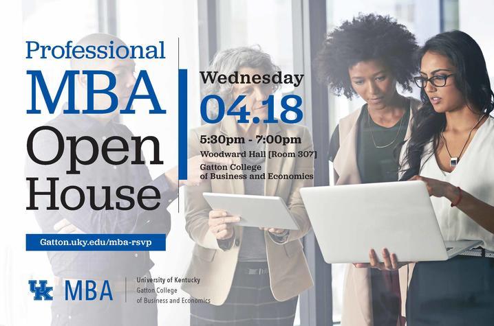 Gatton MBA Professional Open House