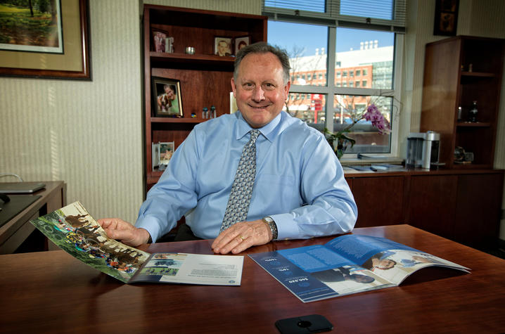 This is a photo of UK College of Health Sciences Dean Scott Lephart