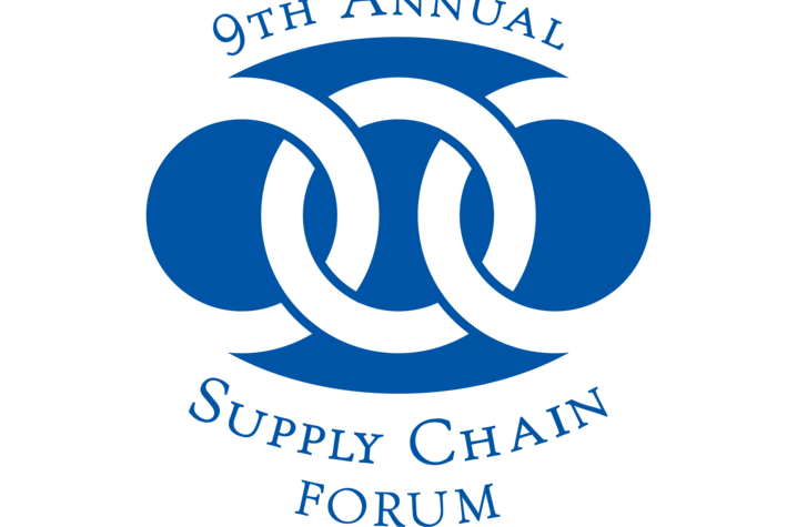 photo of 9th annual Supply Chain Forum logo