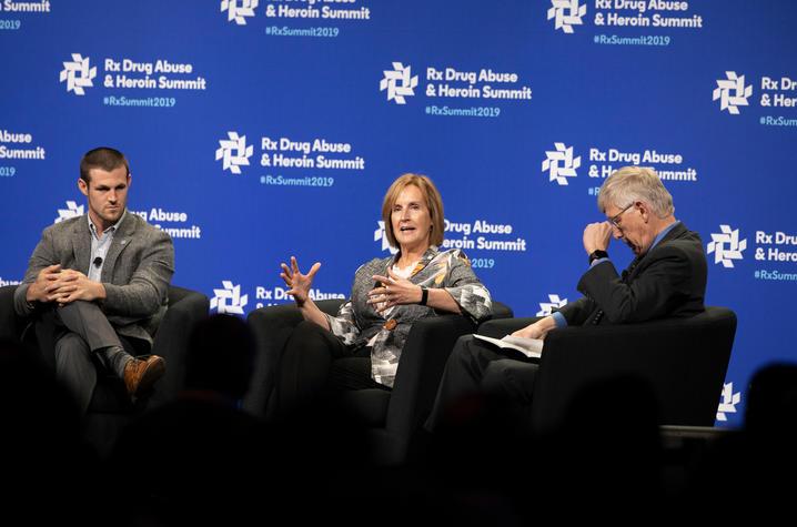 Alex Elswick, Sharon Walsh, Frances Collins