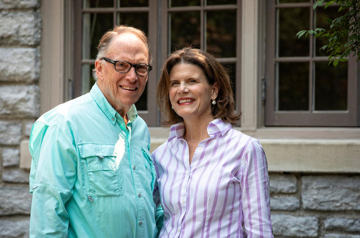 photo Guy Bradley and his wife Harriet