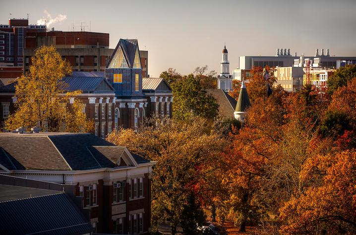 photo of campus buildings