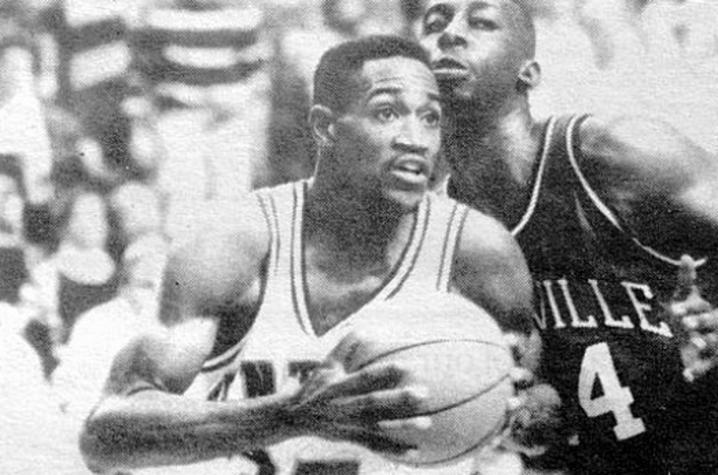 Hanson playing Louisville in 1989