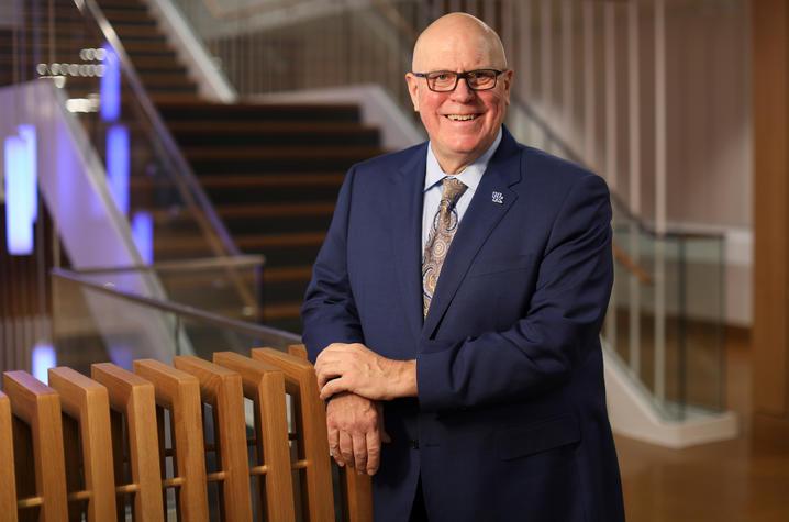 Provost David Blackwell.