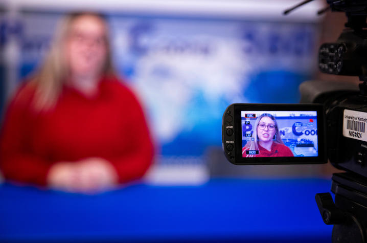 During a 24-hour crisis simulation College of Communication and Information students became the Global News Network (GNN) acting and reacting as media would in a time of crisis.