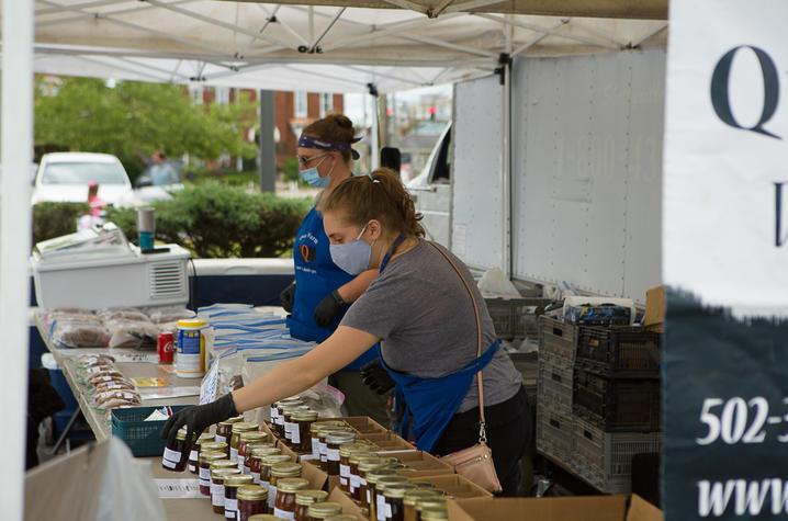 Lexington Farmers Market vendors