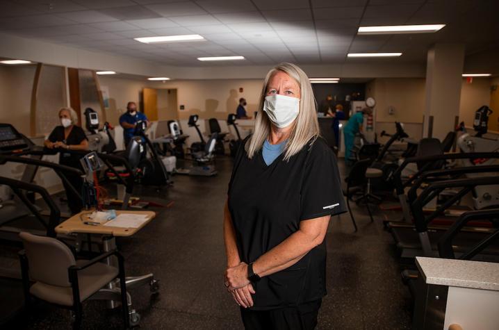 Angela Steele, UKHC physical therapist
