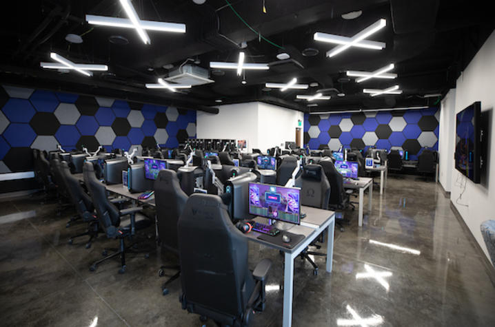 The UK Federal Credit Union Esports Lounge and Theater.