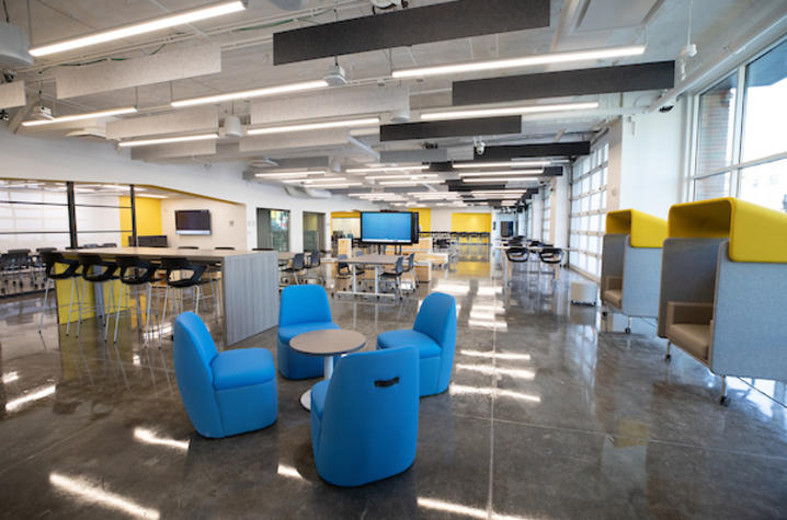 Flexible innovation space in The Cornerstone.