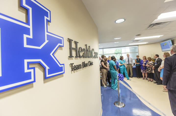 UK Team Blue Clinic grand opening