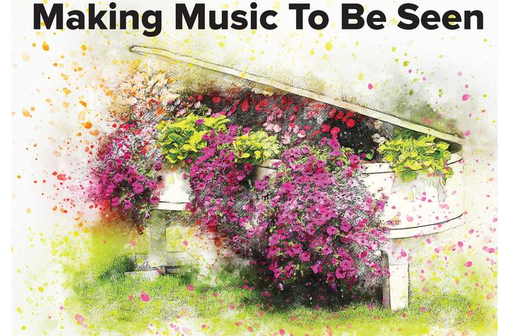 "photo of poster for ""Making Music To Be Seen"" concert"