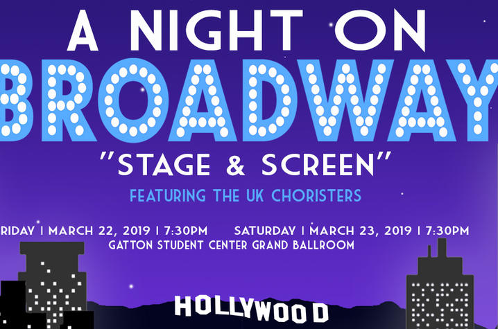"""photo of 2019 """"A Night on Broadway"""" Facebook ad"""
