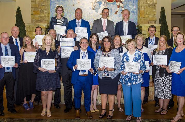UK Alumni Service Award winners - Photo by Tim Webb