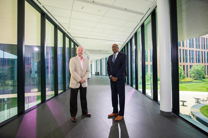 Dr. Rick McClure and Dr. Navin Rajagopalan, UK HealthCare