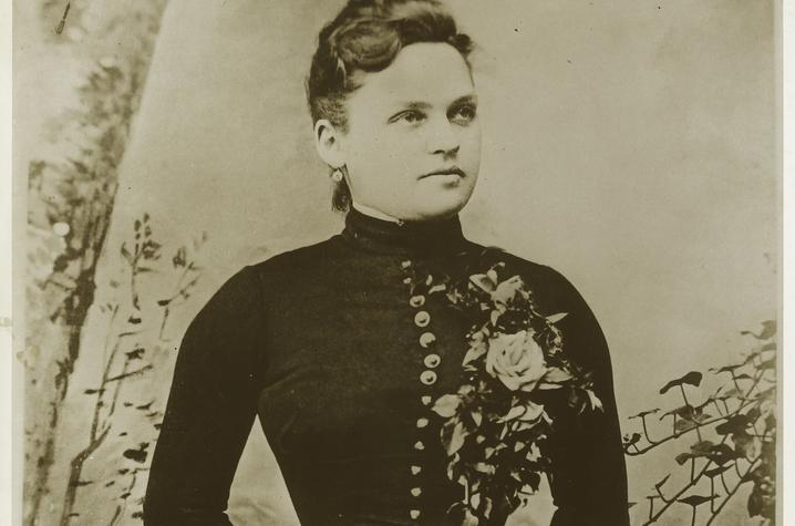 photo of Belle Brezing from UK Special Collections Research Center