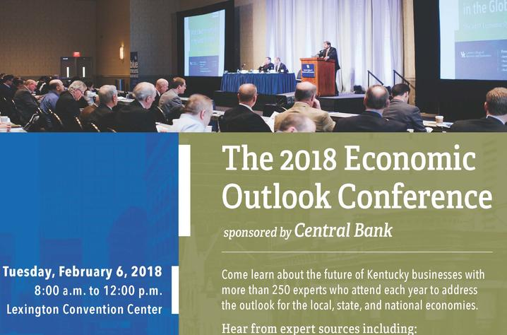photo of 2018 Economic Outlook Conference poster