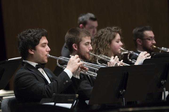 photo of uk musicians playing in the UK Symphony Orchestra