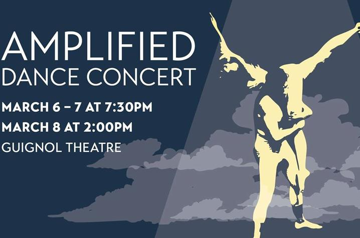 photo of UK Dance's Amplified poster