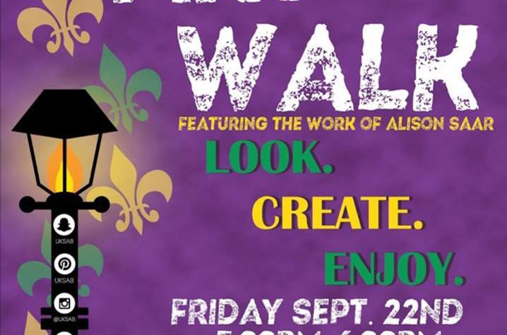 Art Walk poster