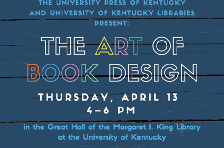 "photo of ""The Art of Book Design"" poster"