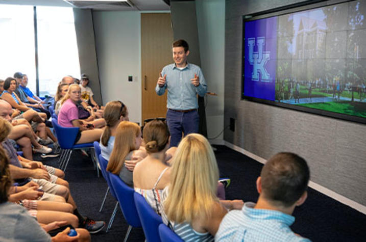 Big Blue Open Houses provide an extensive tour of UK.